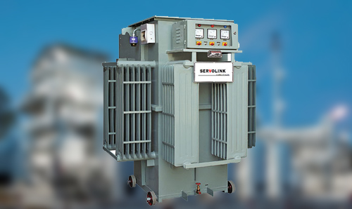 Linear Type Oil Cooled Automatic Voltage Stabilizer In Jalgaon